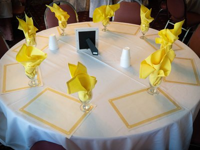 Banquet Hall table